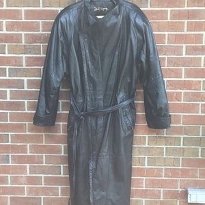 Leather jacket full length Daniel Young  size 40